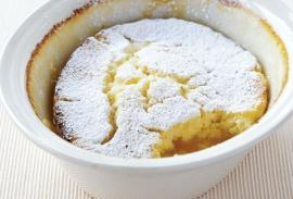lemon self saucing pudding