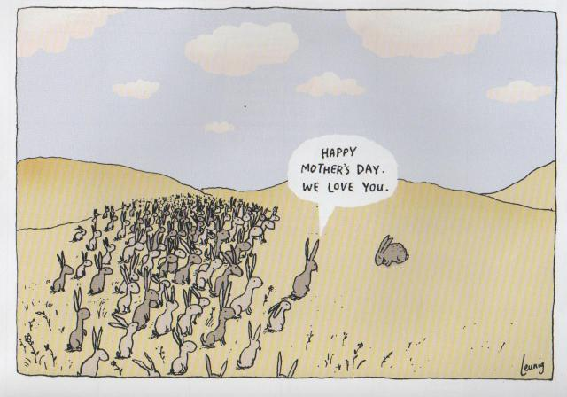 Happy Mothers Day Leunig